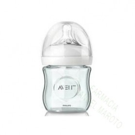 AVENT BIBERON NATURAL CRISTAL 120 ML +0M