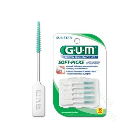 GUM SOFT PICKS INTERDENTAL 40U