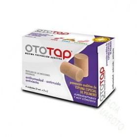 OTO-TAP TAPONES ESPUMA 6 U