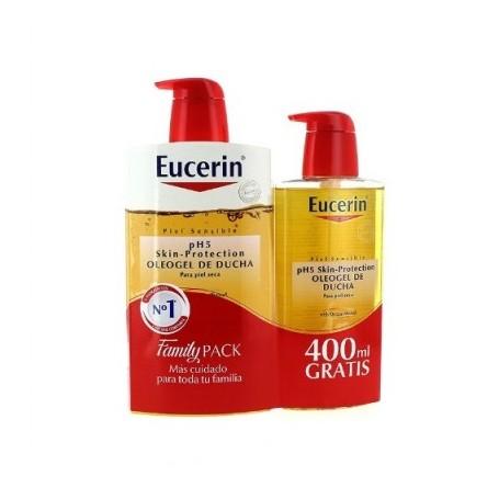 EUCERIN OLEOGEL DE DUCHA 1 LITRO+400 ml