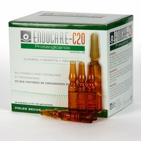 ENDOCARE C20 PROTEOGLICANOS 1 ML 30 AMPOLLAS