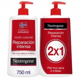 NEUTROGENA LOCION ROJA 750 ML+750 ml